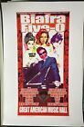 Biafra Five-O: San Francisco 2008 Poster Signed Number Chuck Sperry KAW Run of 3