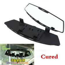 """12"""" White Car Interior Wide Angle Curve Rear View Mirror Clip On Original Mirror"""
