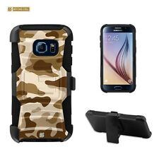 Beyond Cell Shell Case Armor Kombo For Samsung Galaxy S7 Desert Storm Camouflage