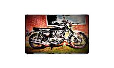 1972 honda cb750 Bike Motorcycle A4 Photo Poster