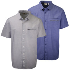 Vans Men's Pipe Dream Striped S/S Woven Shirt