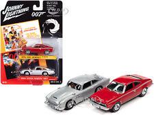 "1974 Amc & 1964 Aston Martin ""James Bond"" Set 1/64 Johnny Lightning Jlpk011-Bond"