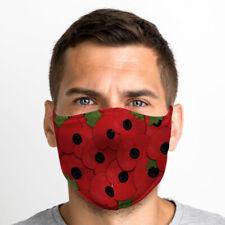 Poppy One Size Reusable Washable Breathable Face Mask UK