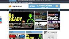 Turnkey CryptoCurrency News Website, AutoPilot + Free Hosting