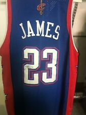 Lebron James autographed All Star Jersey