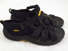 KEEN Unisex Kids Sandals 5 M EU 38, Black trim, Elastic Pull Closure Strap Shoes