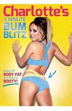 Charlotte Crosby's 3 Minute Bum Blitz [DVD]  **New & Sealed UK Region 2**