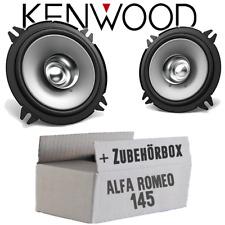 Kenwood Lautsprecher für Alfa Romeo 145 Auto Tür vorne Einbauset Boxen 13cm Koax