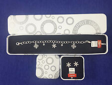 Esprit Damen Set, Armband und Ohrringe, UVP-119,00 € NEU 925 Sterlingsilber,