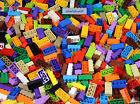 LEGO - All 2x4 Bricks - Assorted Colors Basic Building Blocks Classic Bulk Pound