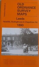 Old Ordnance Survey Maps Leeds Harehills Buslingthorpe Chapeltown  Rd 1890 New