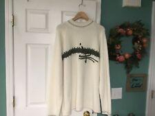 RARE Allen Iverson Vintage Reebok White & Green Sweater Size XL (CON11)