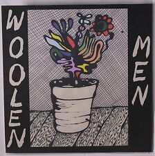 WOOLEN MEN: Quick Trips 45 (PS, red vinyl, small spindle hole) Rock & Pop