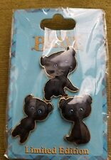 DSF DSSH Disney Brave Bear Triplet Cubs Happy Hungry Curious Pin Set