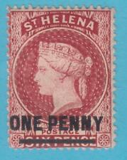 ST HELENA 29  MINT HINGED OG *  NO FAULTS VERY FINE !