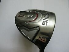 Ping G 20 Right Hand 10.5 degree driver with TFC 169 Regular shaft