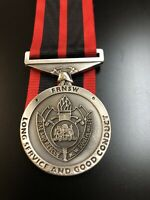 Replica Fire NSW Ls & Gc Medal #fire #medals #NSW