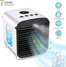 Portable Mini Air Conditioner Cooler Fan Humidifier Evaporative Air Cooling Fans