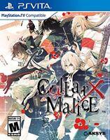 Collar X Malice [Sony PlayStation PS Vita PSV Aksys Games Visual Novel RPG] NEW