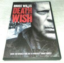 DEATH WISH (DVD, 2018) BRUCE WILLS