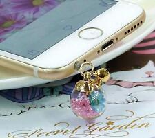 Anti Dust Plug For iPhone SE 6SPlus 6S 6plus 5C 5S 5 PK Diamond Immortal flower