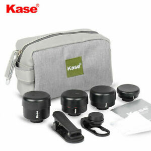 Kase Smartphone Lens kit II (Wide Angle/Macro/Fisheye/Telephoto Lens/Clip)