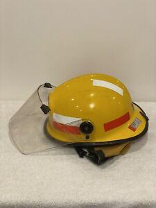 Shell Refinery Geelong Fire Rescue Helmet