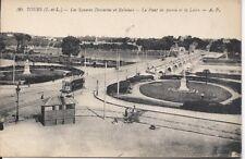Tours, France - Les Squares Descartes et Rabelais -  Uncirculated Postcard