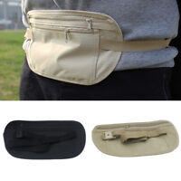 Travel Waist Belt Bag Anti-theft Invisible Phone Passport Cash Pouch Case Dote