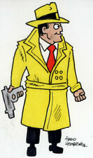 Fred Hembeck Sketch Card: Dick Tracy 1/1