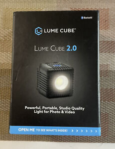 Lume Cube - 2.0 LED Portable Light |Waterproof LED | stands just 1.6 (NIB)