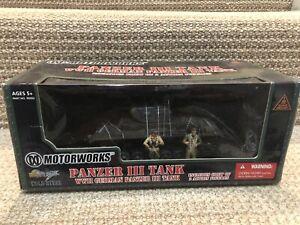 Ultimate Soldier/Motorworks 1:32 Panzer III Tank w/2 Crew, No. 99302
