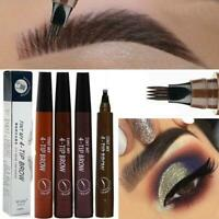 Microblading Eyebrow Pen with Fork Tip- Waterproof - Long Lasting Eyebrow Pencil