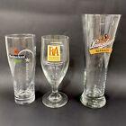 Beer Glasses Lot Of 3: Heineken, Brewers Association & Leinenkugel Shandy