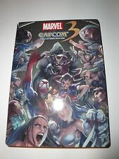 Marvel vs. Capcom 3: Fate of Two Worlds (Xbox 360, 2011) STEELBOOK case edition