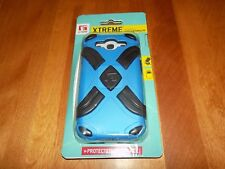 XTREME FOR SAMSUNG GALAXY S III PHONE CELLPHONE CASE Blue / Black G-Form NEW
