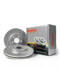 BMW 3 (E46) 318 320 325 328 323 X COATED MINTEX REAR BRAKE DISCS MDC1384 PAIR