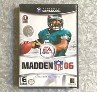 Madden 06 Football Nintendo Gamecube Complete w/ Manual Fast Ship! TESTED 2006