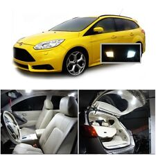 For Ford Focus 2012-2016 Xenon White LED Interior Kit Package