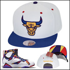 Mitchell & Ness Chicago Bulls Snapback Hat For Jordan 7 Nothing But Net Sweater