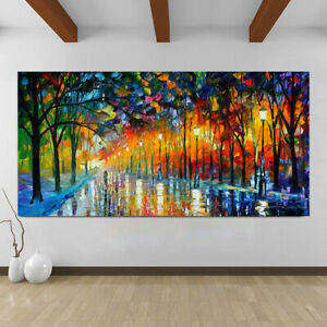 Modern_ Home Decor Canvas Print Painting Wall Art Landscape Picture Living Room