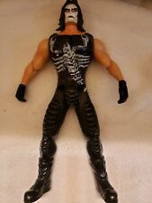 """Rare WCW WWE Wrestling STING 13"""" Talking Action Figure Moving Jaw 1999"""