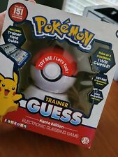 Pokemon Trainer Guess: Kanto Edition Electronic Game - New - Pikachu, Charizard