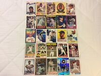 HALL OF FAME Baseball Card Lot 1979-2020 DEREK JETER KEN GRIFFEY JR. TY COBB +