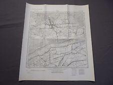 Landkarte Meßtischblatt 3355 Vietz, Pyrehne, Landsberg, Warthe, Neumark, 1945