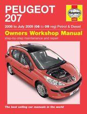 buy peugeot 207 car owner operator manuals ebay rh ebay co uk Peugeot 206 CC peugeot 207 cc 2008 owners manual