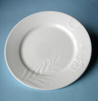 "Wedgwood NATURE Salad Dessert Plate 8"" Embossed Design Made in UK New"