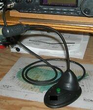 W2ENY Desk Microphone w/ PTT for Icom Kenwood Yaesu Flex Alinco TenTec Elecraft