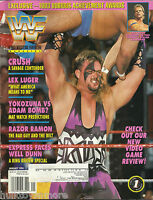 WWF Wrestling Magazine January 1994 Crush WWE