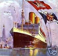 Hapag Hamburg-americana Packetfahrt hamburgo histor acción 1936 transporte marítimo